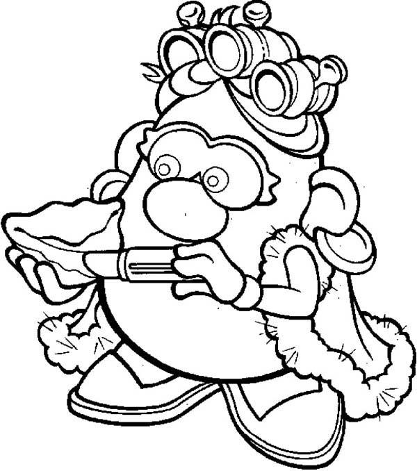 Mr. Potato Head Wife Coloring Pages