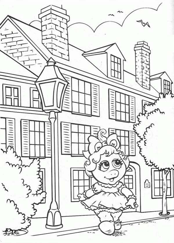 Muppet Babies Coloring Pages For Kids