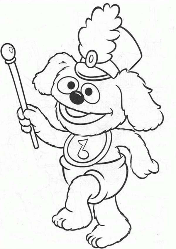 Muppet Babies Leading Baby Parade Coloring Pages