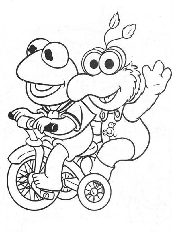 Muppet Babies Picture Coloring Pages
