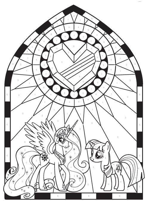 My Little Coloring Pages