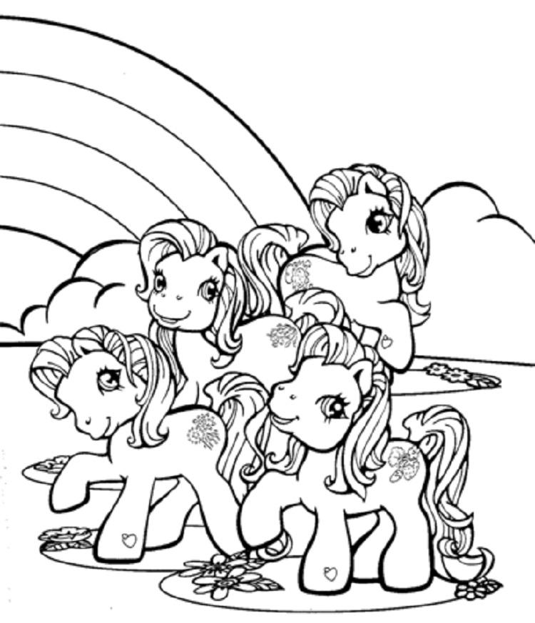 My Little Pony Coloring Pages All Ponies