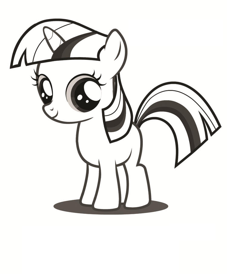 My Little Pony Coloring Pages To Print Out