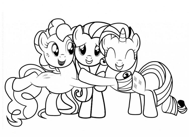 My Little Pony G4 Coloring Pages