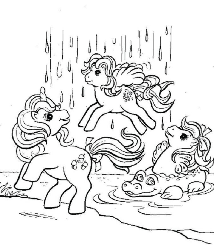 My Little Pony Giant Coloring Pages 1