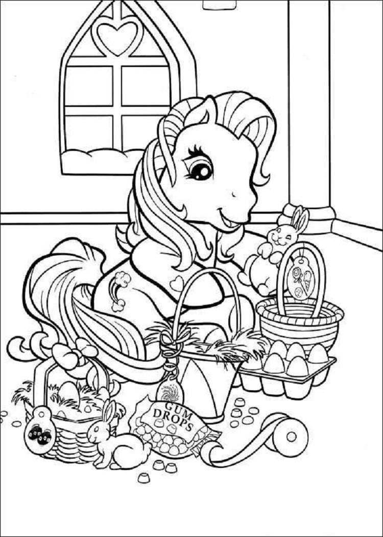 My Little Pony Holiday Coloring Pages