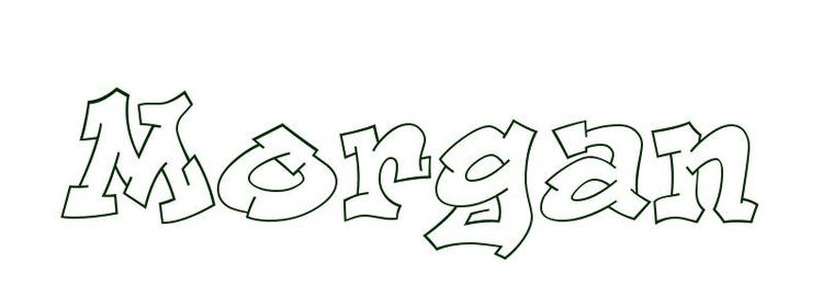 Name Coloring Pages For Boys