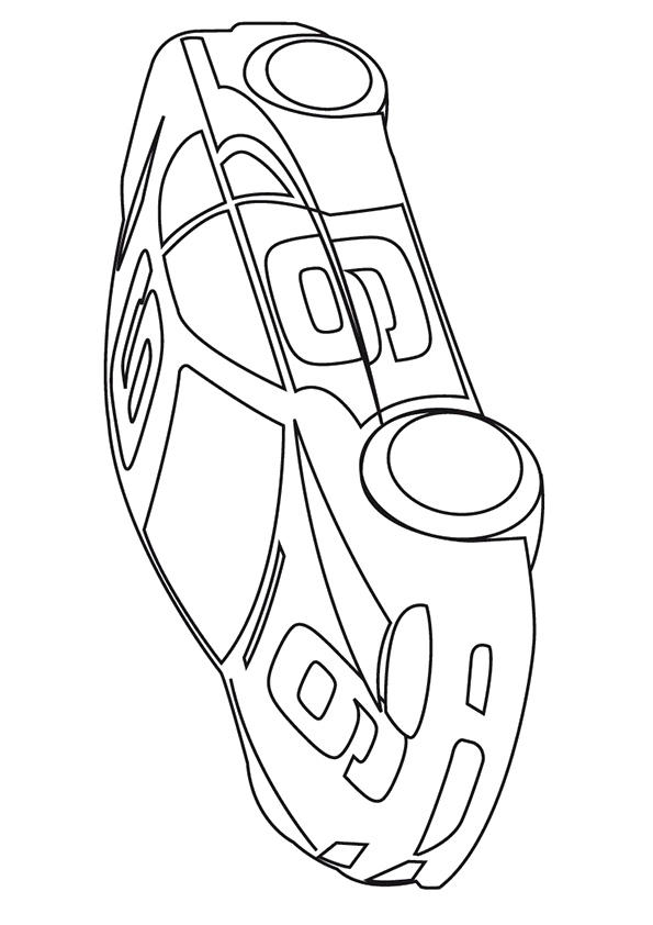 Nascar Coloring Pages For Kids