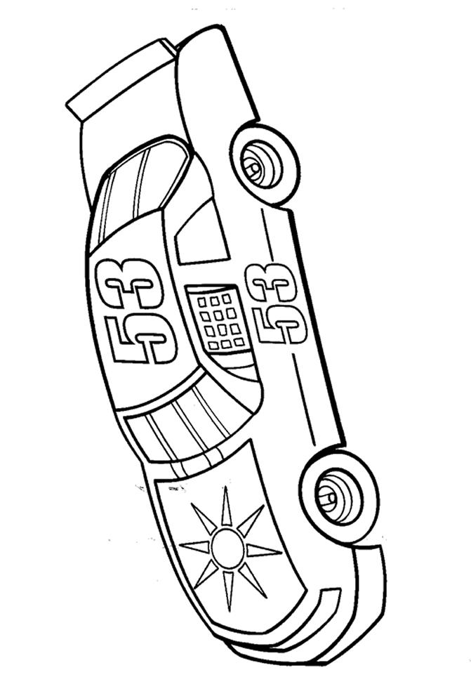 Nascar Coloring Pages Number 53