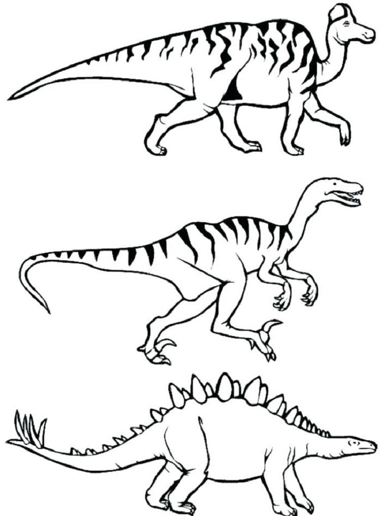 National Geographic Dinosaur Coloring Pages