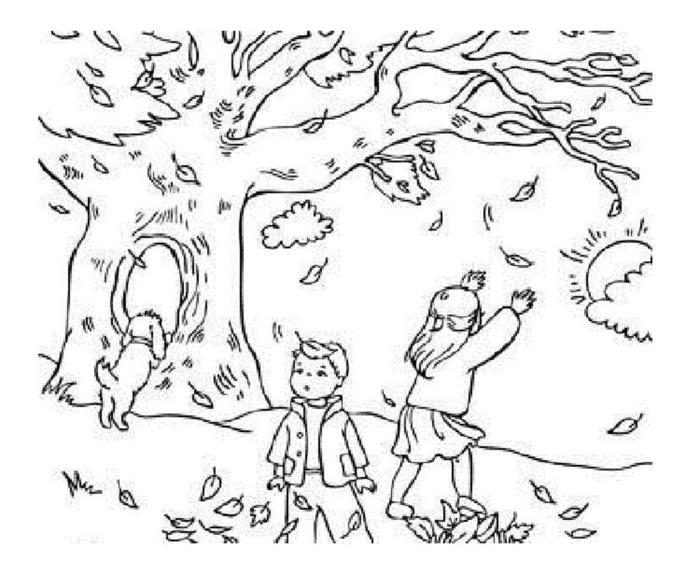 Nature Falls Coloring Pages