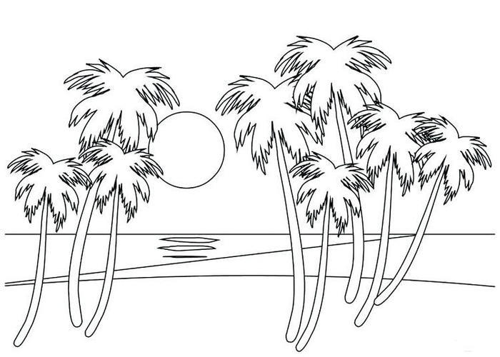 Nature Sea Coloring Pages
