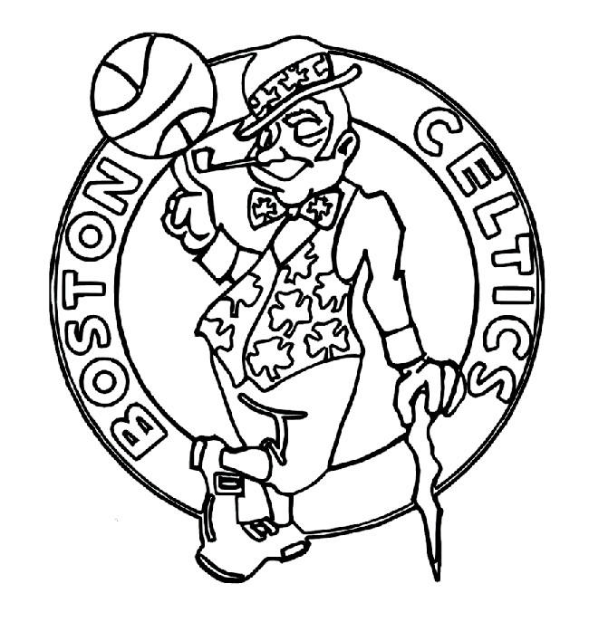 76 Nba Coloring Book Pages Pictures