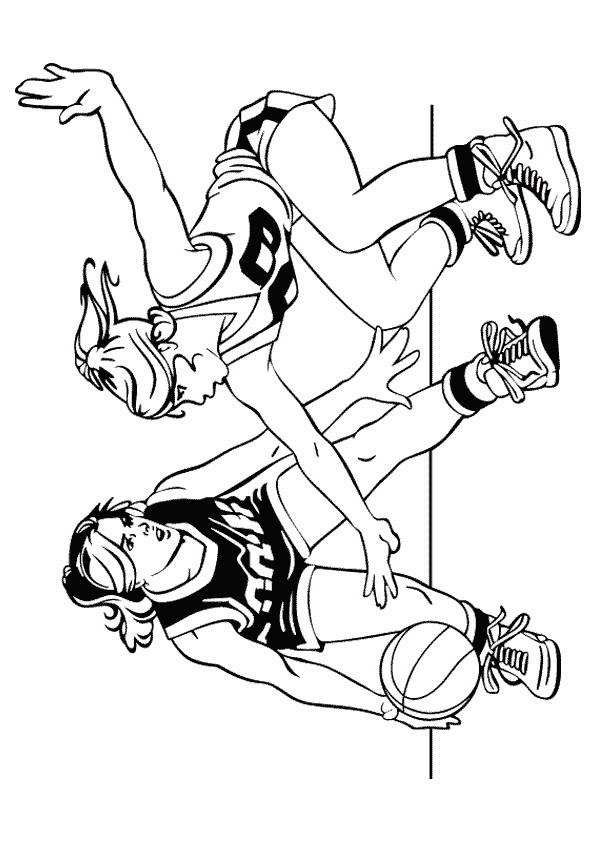 Nba Coloring Pages For Girls