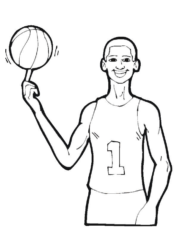 Nba Coloring Pages Printable