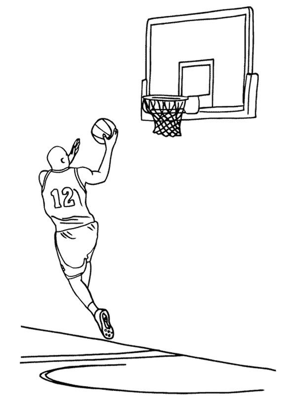 Nba Coloring Pages To Print