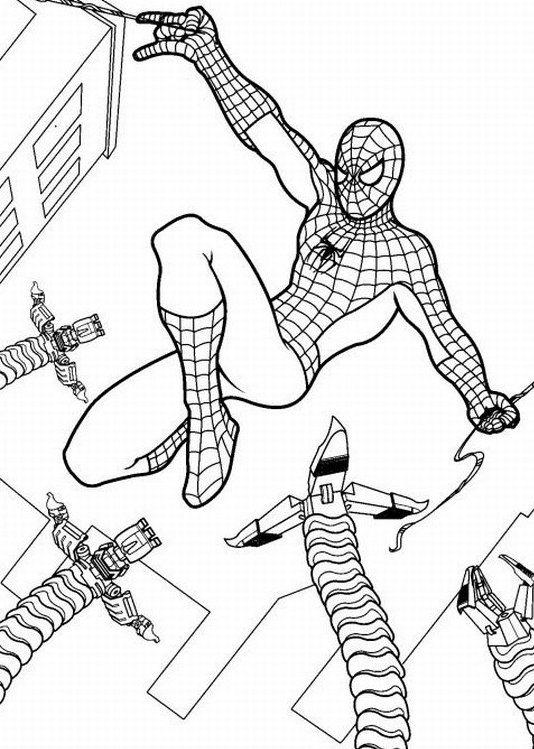 New Amazing Spiderman Coloring Pages