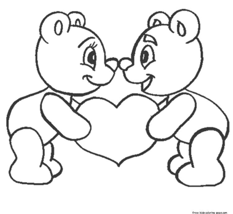 New I Love You Coloring Pages For Boys And Girls For Printing