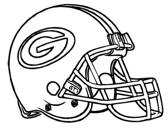 Nfl Coloring Pages Green Bay Packers