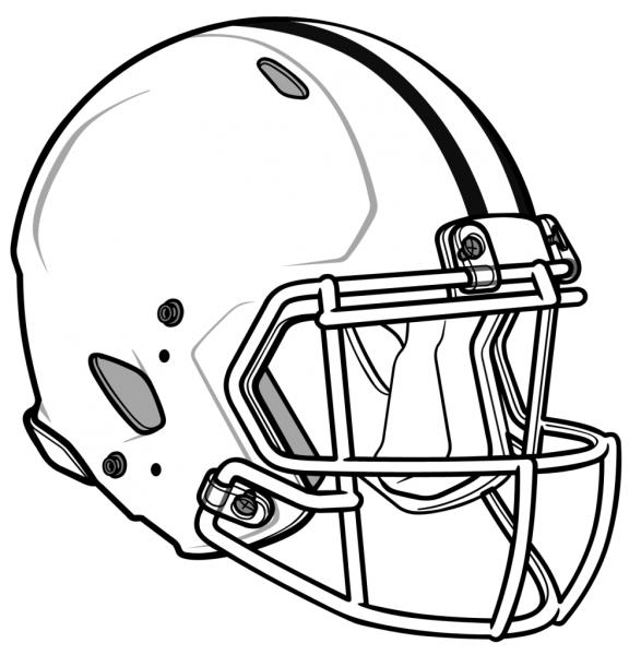 Nfl Coloring Pages Helmet