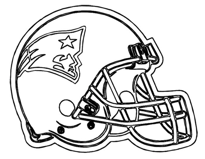 Nfl Coloring Pages New England Patriots