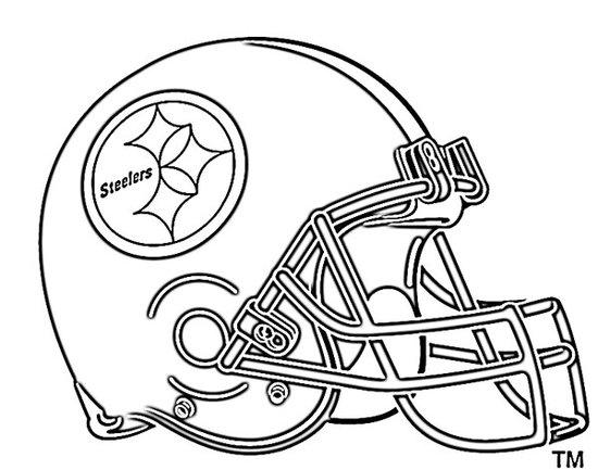 Nfl Coloring Pages Pittsburgh Steelers