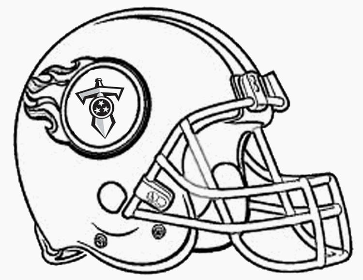 Nfl Coloring Pages Tennessee Titans