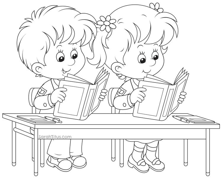 Nice Back To School Coloring Pages
