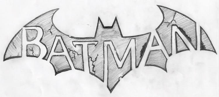Nice Batman Logo Coloring Page