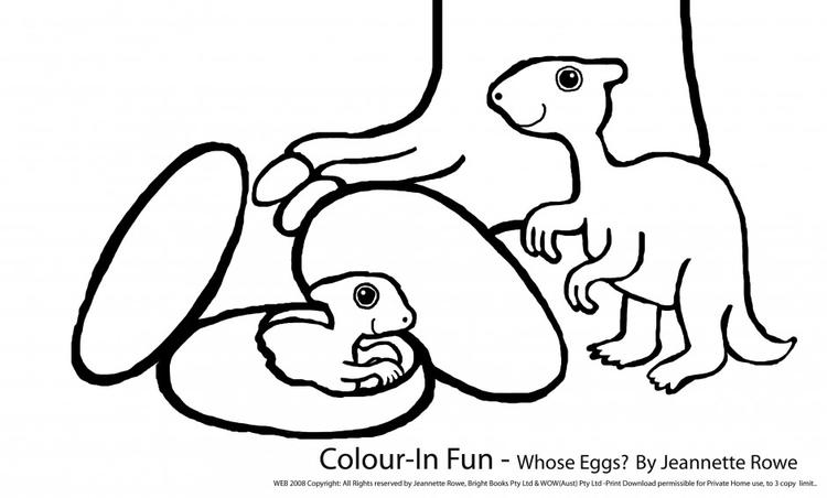 Nice Cute Baby Dinosaurs Coloring Pages 2