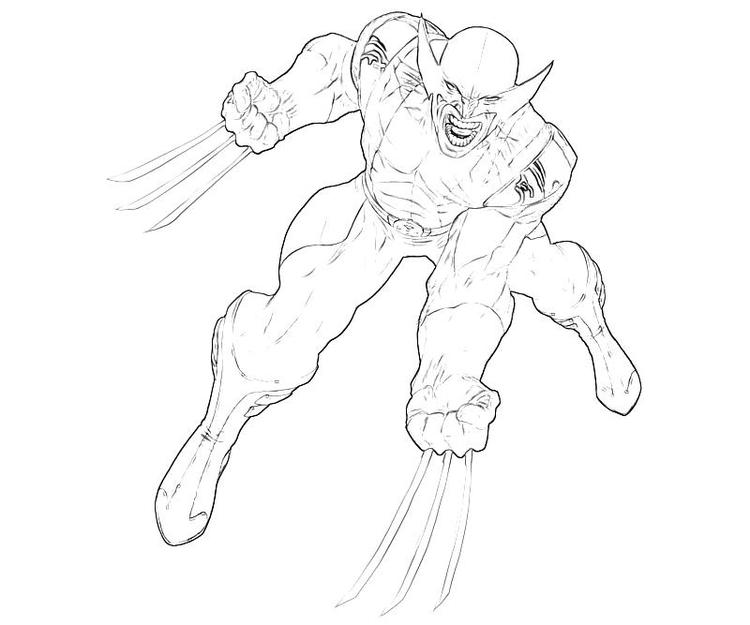 Nice Deadpool And Wolverine Coloring Pages