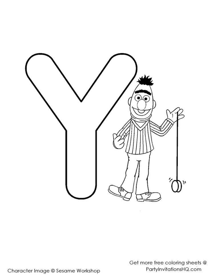 Nice Elmo Abc Coloring Pages 1