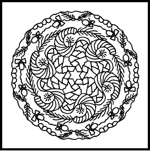 Nice Free Mandala Coloring Pages 1