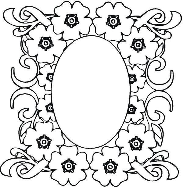Nice Mosaic Coloring Pages 1