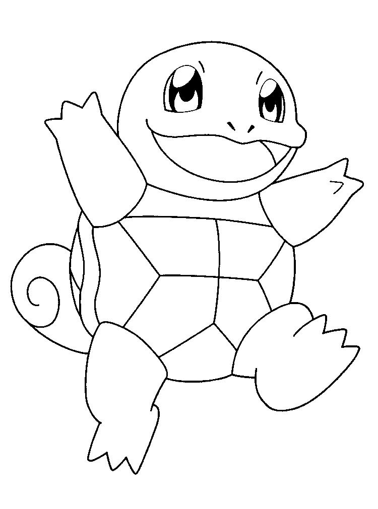Nice Pokemon Coloring Pages