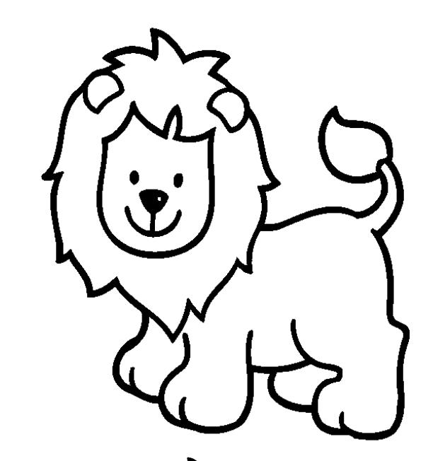 Nice Toddler Animal Coloring Pages