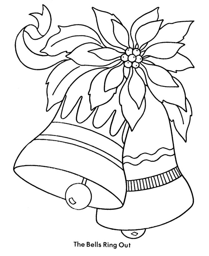 Nice Toddler Christmas Coloring Pages 1