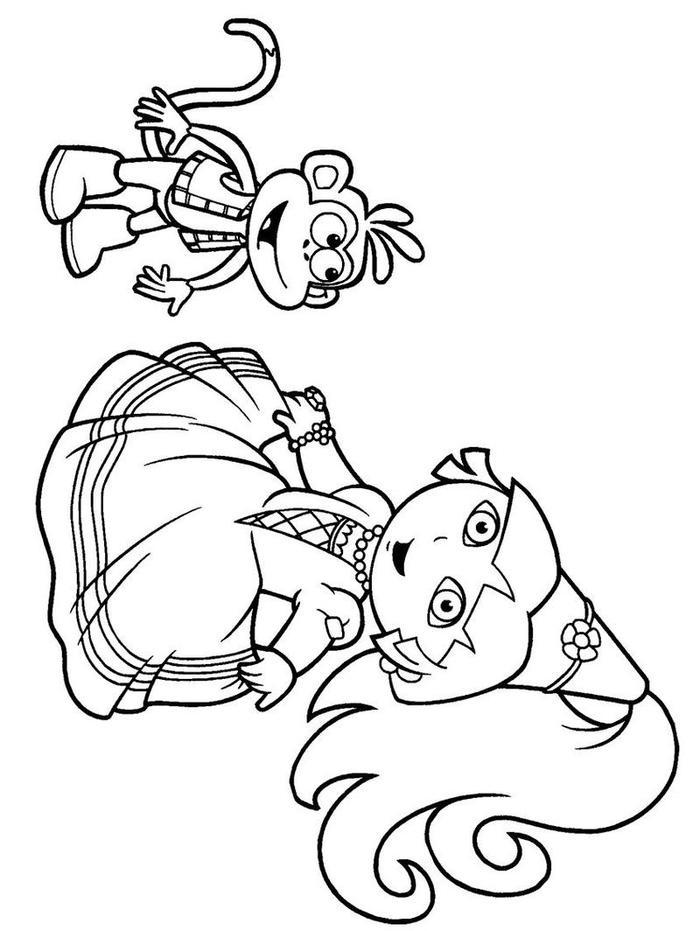 Nick Jr Holiday Coloring Pages