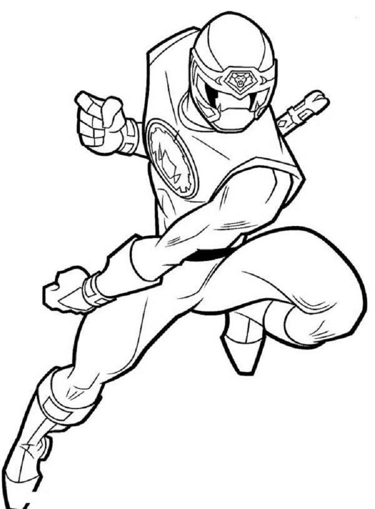 Ninja Storm Coloring Pages