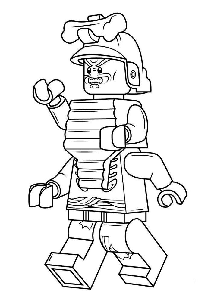Ninjago Coloring Pages Garmadon