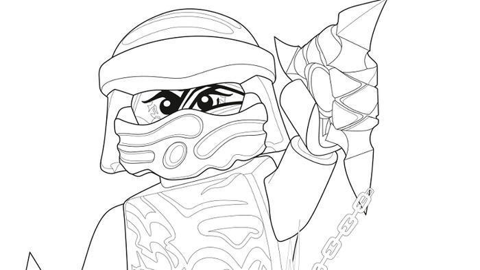 Ninjago Coloring Pages Ghost