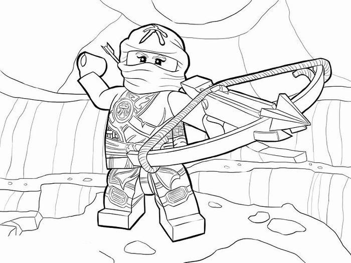 Ninjago coloring pages skylor