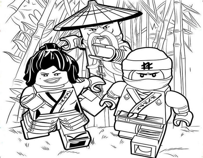 Ninjago Movie Coloring Pages