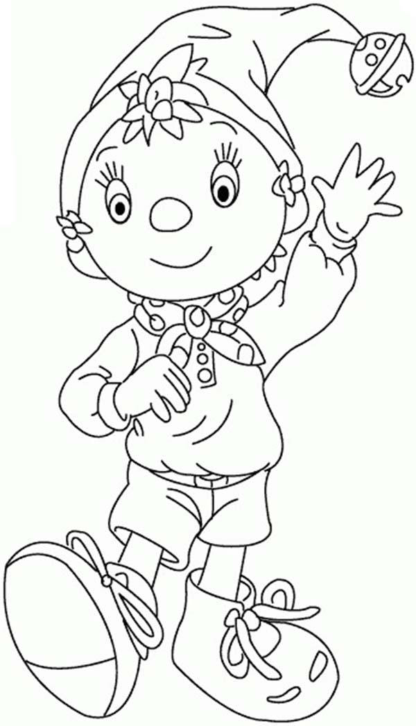 Noddy The Little Wooden Boy Coloring Pages
