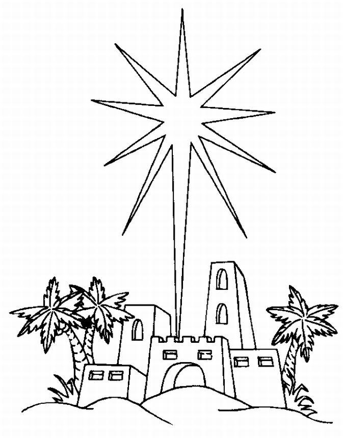 North Star Coloring Pages