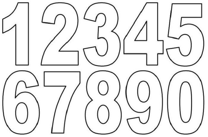 Numbers Coloring Pages Pdf