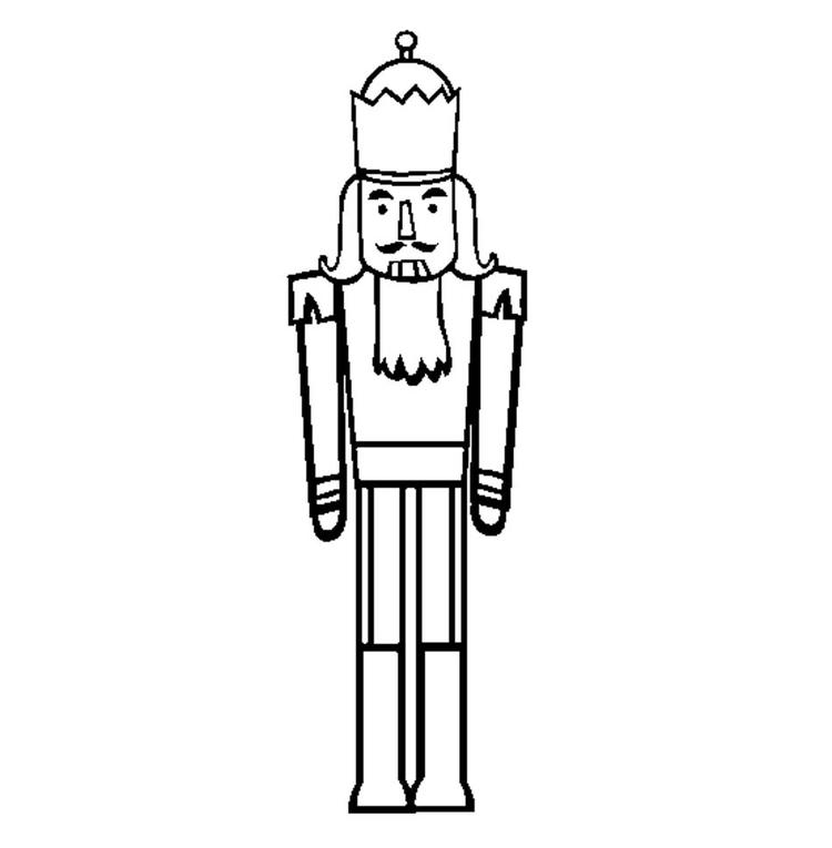Nutcracker Coloring Pages For Toddler