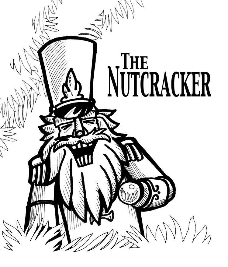 Nutcracker Coloring Pages Free