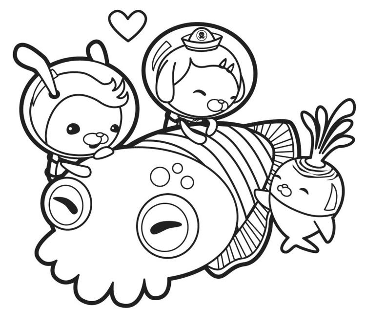 Octonauts Coloring Pages To Print