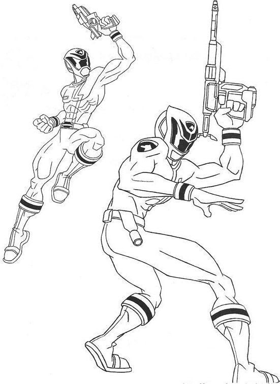 Original Power Rangers Coloring Pages